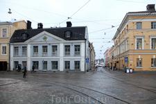 Местами Хельсинки напоминает Санкт-Петербург.