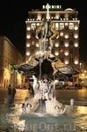 фонтан Тритон на пл. Барберини