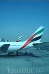 самолёты компании Emirates