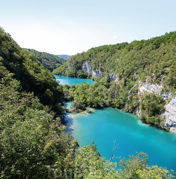 А это уже Хорватия. Плитвицкие озера.