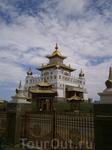 Золотая Обитель  Будды Шакьямуни - цель  поездки в Элисту
