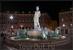 ночная Ницца,Фонтан дю Солей (Солнечный фонтан) пл. Массена