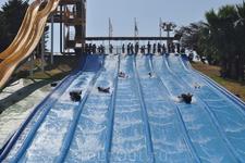 Аквапарк, водные горки