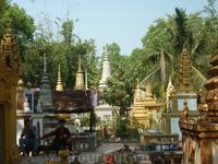 Кладбище времен Пол Пота,Камбоджа