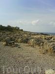 фрагмент дикого пляжа