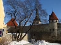 Старая крепостная стена.