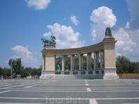 Будапешт. Площадь Героев