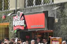 Ресторан-буфет на площади Пилар в Сарагосе. Здесь можно быстро, вкусно и недорого поесть.