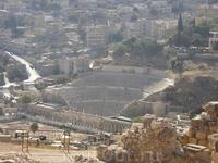 амфитеатр за пределами музее ! непосредственно в самом аммане
