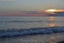 вечер на море чудесен