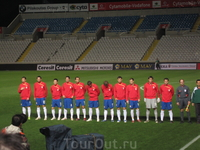 стадион GSP...сборная Сербии во всей своей красе :)