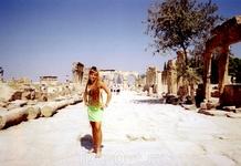 Трехарочная улица в Иераполе