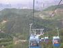 Спуск из сафари парка на другу сторону горы