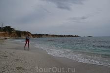 дикий пляж, район Херсонисос