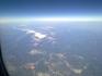 Альпы, вид из самолета