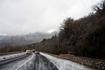 """А через пару километров уже такая. Погода в Крыму во время движения меняется с ошеломляющей скоростью, как слои в """"Наполеоне""""."""