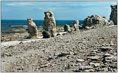 Вот они, раукары острова Форё...