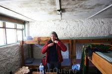 Барак в лагере Кибо