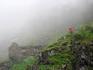 Водопад Фломсбана. На обрыве, у самого водопада, стоит полуразрушенный домик. Одна из легенд гласит, что много-много лет назад у водопада поселилась красавица ...
