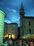 Вечерняя Будва. Старый город
