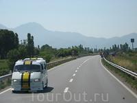Трассы в Албании приглядные. Виды - тоже
