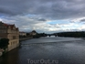 Облака и тучи над Влтавой