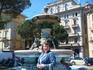 На главной улице Лугано