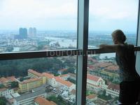 Бизнес-центр в Хошимине. 33 этаж.