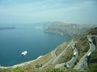 дорога на Санторини