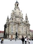 Кафедральный собор. Фраукирхе. Отстроен практически из руин.
