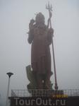 30-ти метровая статуя Шивы.