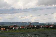 Французские виноградники-Эльзас