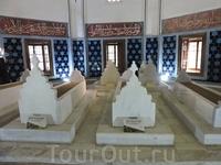 Различные мечети и мавзолеи города Бурсы.