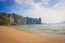 Конец пляжа Ао Нанга
