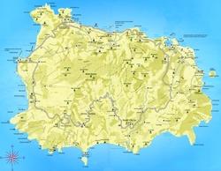 Карта Искьи