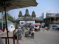 терминал на границе Камбоджа-Таиланд