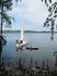 Наш водный транспорт - вид с острова Веры