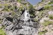Очаровательный маленький водопад в Андорре.