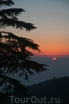 закат в Маклеод Гандже