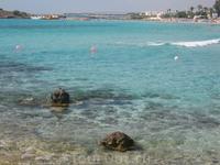 море Средиземное, пляж Нисси бич