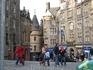 Виктория стрит. Эдинбург, старый город.