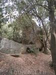 в каменном  лабиринте