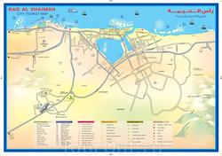 Карта Рас эль-Хаймы