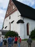 Известная церковь в Порвоо