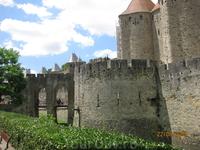Крепость Каркассон.