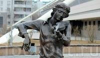 Памятник скрипачу