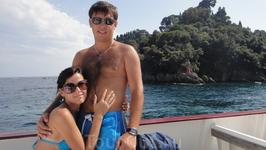 Мы в лагуне Портофино