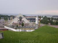 """Культурно- развлекательный комплекс """"Пирамида"""" возле Казанского Кремля"""