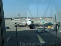 Наш самолет готов к вылету.