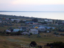 Вид на поселок Новоотрадное с близлежащих холмов